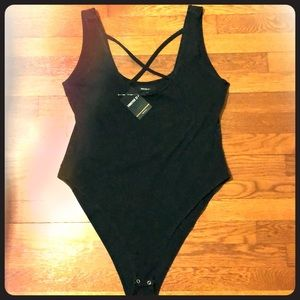NWT Forever 21 Bodysuit Women's Size 0X